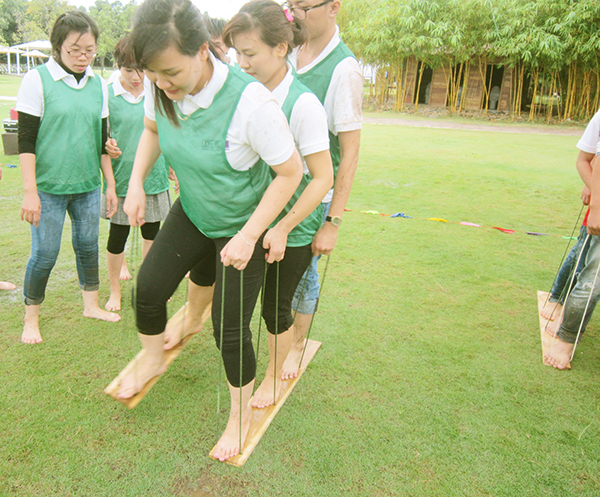 team building mai châu